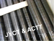Fired Heaters / Boiler Spiral Wound Finned Tubes SA 335 Gr.P91 Carbon Steel Material