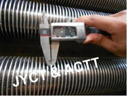 SA106GrB Metal Welded Helical Fin Tube for Air Cooler / Boiler Economizer