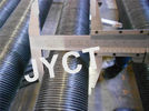Steel G Type Heat Exchanger Fin Tube , Solid Seamless Embeded fin tube