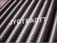 Spiral Screw Corrugated Metal Tube Pipe For Air Cooler / Air Heater