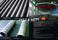 Round Corrugated Steel Pipe , Corrugated Culvert Pipe OD 16-51mm