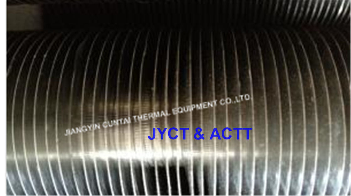 Steel Knurled KL Fin Tube For Heat Exchanger Parts With AL1060 Fin Material
