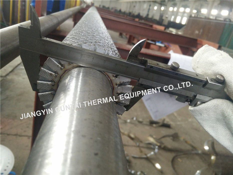 Seamless Carbon Steel Serrated Fin Tube/ Finned tubes With SA335 P11 Tube Material
