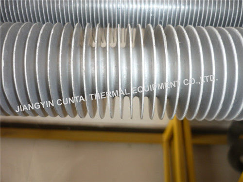 Seamless Extruded Aluminium Finned Tubes For Industrial Air Heater / Air Cooler