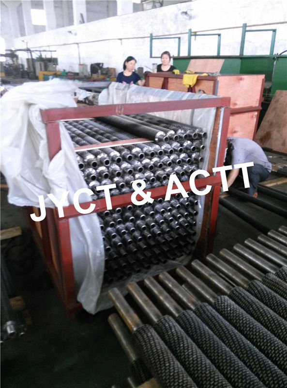 Custom Sprial Serrated Fin Tubes For Heat Recovery Steam Generator